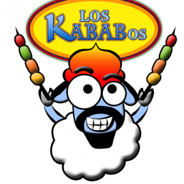 Los Kababos Logo and Mascot